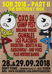 Son of the Bastard 2018 Part II - The Birthday Ride (Ticket) Freitag 28.09.2018