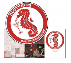 Blutjungs - Saufpferdchen (LP) Picture LP 100 copies
