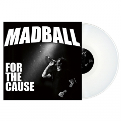 Madball - For the Cause (LP) limited white Vinyl limited 500 Gatefolder