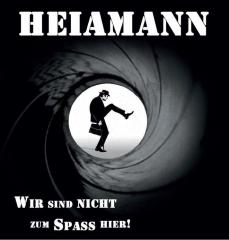 Heiamann - Wir sind nicht zum Spaß hier (LP) 180gr. whiteblack splatter Vinyl, lmtd 200