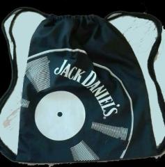 Jack Daniels - Vinyl Gymsac (Bag) black