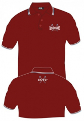 Booze & Glory - Logo (Polo) Bordeaux sticked