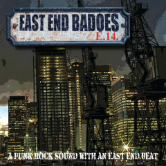 East End Badoes - A Punkrock sound with an East End Beat (LP) white Vinyl
