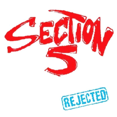 Section 5 - Rejected (LP) red/white/blue splatter Vinyl