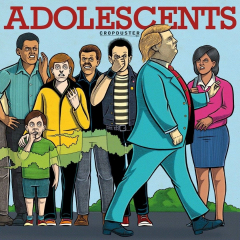 Adolescents, the - Cropduster (LP) black Vinyl