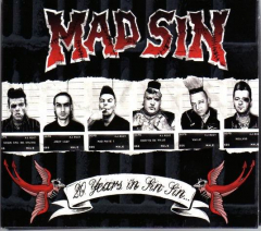 Mad Sin - 20 Years in Sin Sin (2 CD)  Limited Banderole Edition