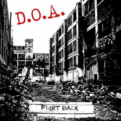 D.O.A. - Fight Back (LP) red Vinyl limited
