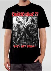 Emscherkurve 77 - Hier bei uns T-Shirt (black)