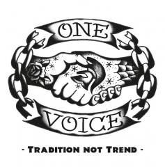 One Voice - Tradition not Trend (LP) limited 150 Domestos-Blue Vinyl 200gr./ white Cover