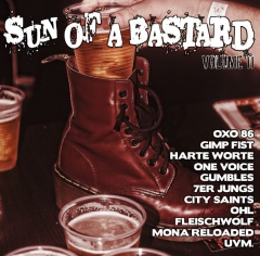 Sun of a Bastard Vol. 11 - (CD) Cover B  (Harte Worte, OXO86, 7er Jungs, One Voice, OHL uva )