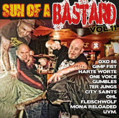 Sun of a Bastard Vol. 11 - (CD) Cover A  (Harte Worte, OXO86, 7er Jungs, One Voice, OHL uva )