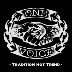 One Voice - Tradition not Trend (LP) White/red splatter Vinyl 200gr. / black Cover 10 copies US-Version