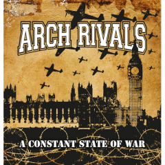 Arch Rivals - A constant state of war (CD) Digipac