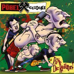Pöbel & Gesocks - Punk - die Raritäten (LP) green-clear Vinyl lmtd 200