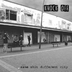 Knock off - Same shit, different city (LP)  red Vinyl 350 copies