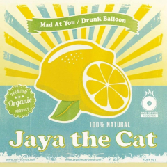 Jaya the Cat vs Macsat  - Mad at you/ Drunk Baloon (LP) 10inch LP clear splatter Vinyl