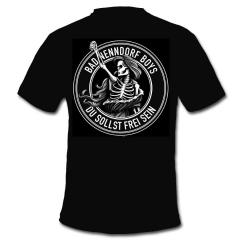 Bad Nenndorf Boys - Du sollst frei sein T-Shirt (black)
