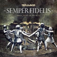 7er Jungs - Semper Fidelis (LP) Glow in the Dark Cover green marbled Vinyl 100 copies