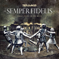 7er Jungs - Semper Fidelis (LP) Glow in the Dark Cover red marbled Vinyl 100 copies