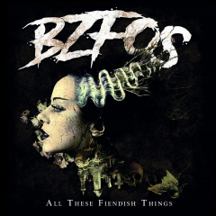 Bloodsucking Zombies From Outer Space ‎– All These Fiendish Things (LP) lmtd colored Vinyl