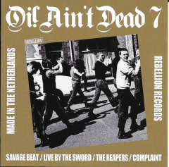 Oi ain´t Dead Vol. 7 (LP) gold Vinyl Savage Beat, Live by the Sword...