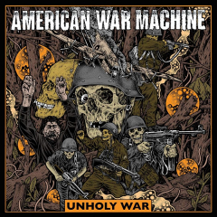 American War Machine - Unholy War (LP) Slapshot, Agnostic Front, Blood for Blood...