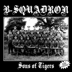 B-Squadron - Sons of Tiger (LP) + Bonus limited  ultra clear Vinyl