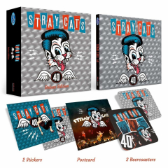 Stray Cats - 40 (CD) Ltd. CD Deluxe Box+Bonustracks+Gimmicks)