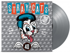 Stray Cats - 40 (LP) Ltd. colored Vinyl, 180gr. Gatefolder