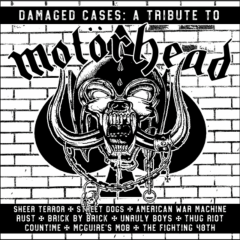 Damaged Cases! - A Tribute to Motörhead (LP) black Vinyl limit 500 copies