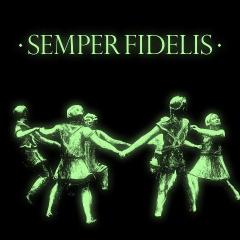 7er Jungs - Semper Fidelis (LP) Glow in the Dark Cover BLUE Vinyl SB exclusive