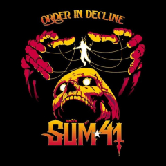 Sum 41 - Order in Decline (CD) Digisleeve incl 2 Bonussongs + Guitar Pick