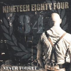 1984 - Never Forget (LP) blue vinyl