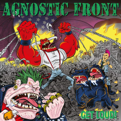 Agnostic Front - Get Loud (LP) blue Vinyl limited 300 copies