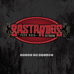 Bastardes - Drunk on Dreams (LP) red Vinyl, limited 100 + MP3