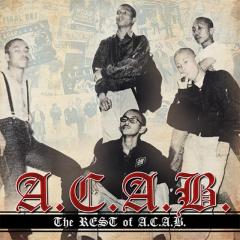 A.C.A.B. - The rest of ACAB (LP) yellow Vinyl 200 copies + CD