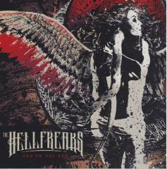 Hellfreaks, the - God on the Run (LP) white 180gr. Vinyl + Poster + MP3  lmtd 200 copies