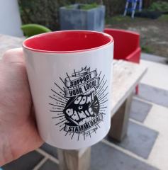 Don´t Panic Kaffee-Pot 3er Set - Support your local Stammkneipe (Tasse mit Henkel) Keramik