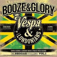 "Booze & Glory  ""Vespa & Londonians - The Reggae Session Vol. 1"" 3xEPs 7inches Vinyl"