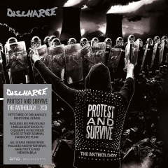Discharge - Protest and survive: The anthology (2LP) Gatefolder lmtd Splatter Vinyl