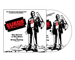 Suede Razors - The Bover & the Glory (EP) 7inch Picture-Vinyl