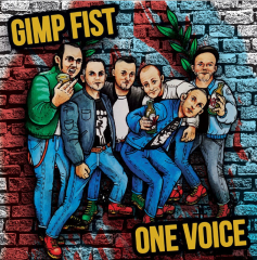 Gimp Fist / One Voice - Family man / On the Rampage (EP) 7inch red Vinyl 100 copies