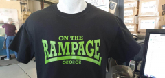 On the Rampage - Logo Lonsdale Style T-Shirt (black)