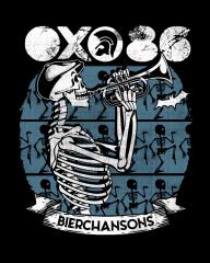 Oxo 86 - Bierchansons T-Shirt (black) blue Print