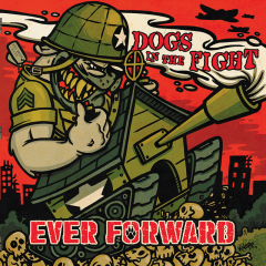Dogs in the fight - Ever Forward (LP)  purple white cross Vinyl 150 copies