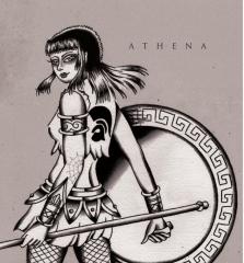 Athena (Becky Bondage, Jenny Woo, Clara Byrne) - same (EP) 7inch Vinyl