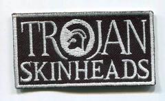 Trojan Skinhead (Patch) black/white