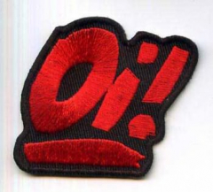 Oi! - (Patch) red