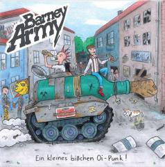 Barney Army - Ein kleines bißchen Oi-Punk (LP) whiteblue swirl 150 copies Vinyl Super Sound Single