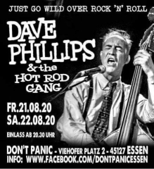 Dave Philipps & the Hot Rod Gang - Live (Ticket) 21.08.2020 Don´t Panic Essen